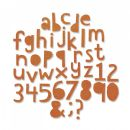 663074 - Sizzix Thinlits Die Set 102PK - Alphanumeric, Cutout Lower by Tim Holtz